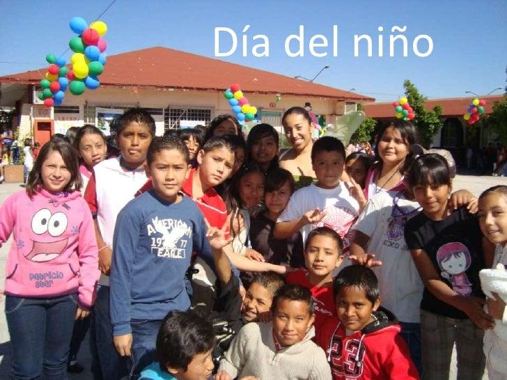Día del niño<br />Día del Niño<br />