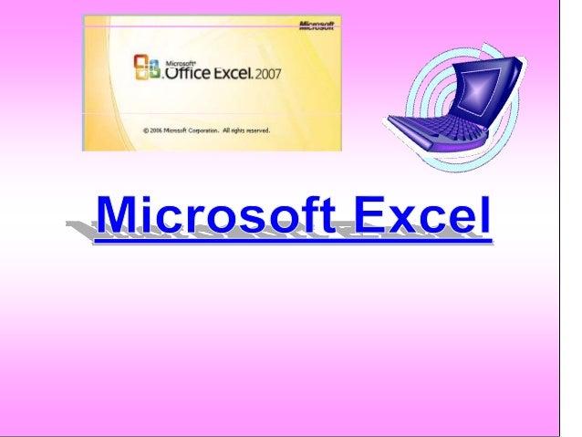 Microsoft Excel нь хүснэгтэн мэдээлэл Боловсруулах, томъѐо болон функц ашигланзарим хялбар тооцоог хийх, график байгуулах ...