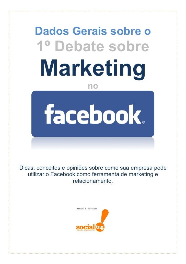Facebook Marketing - Dados Gerais