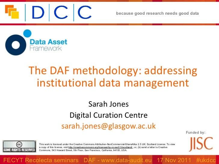 DAF methodology