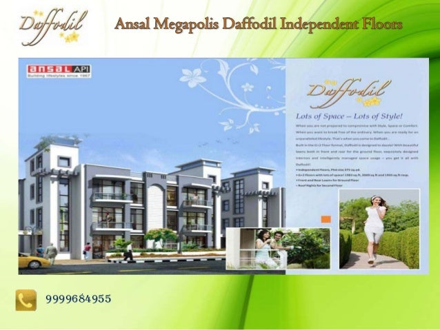 Ansal Megapolis daffodil Floors, Ansal daffodil Floors@9999684955