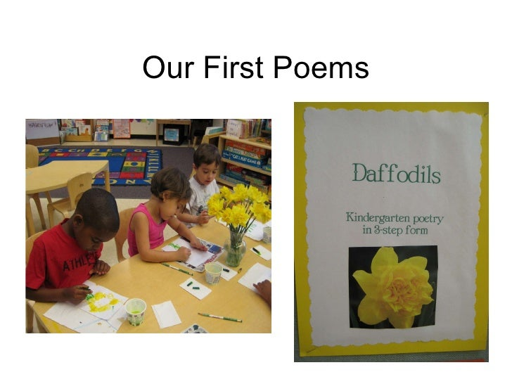 Our First Poems