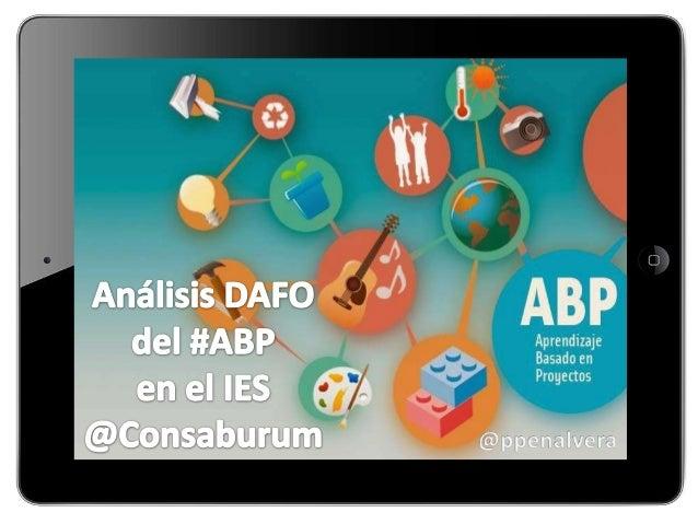 Dafo de ABP en IES Consbaurum
