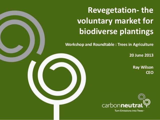 Biodiverse Revegetation - Trees in Agriculture Workshop