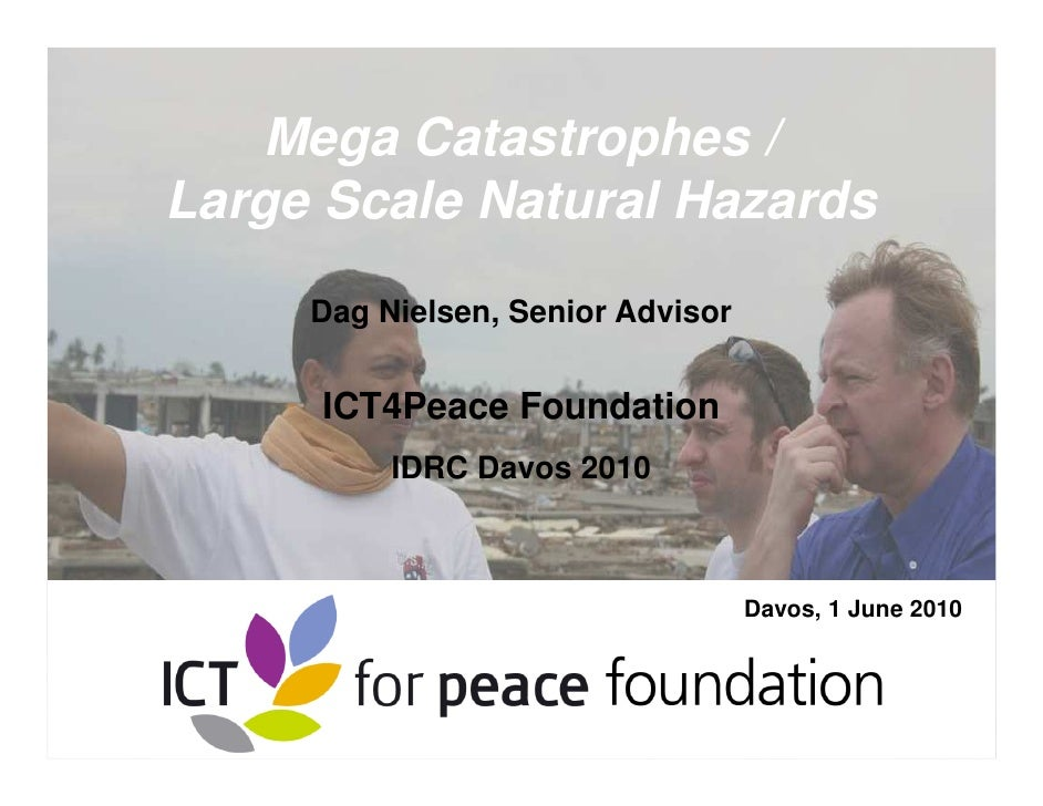Mega Catastrophes/Large Scale Natural Hazards