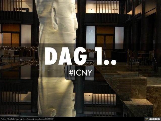 Dag 1 #icny Huffington Liniger