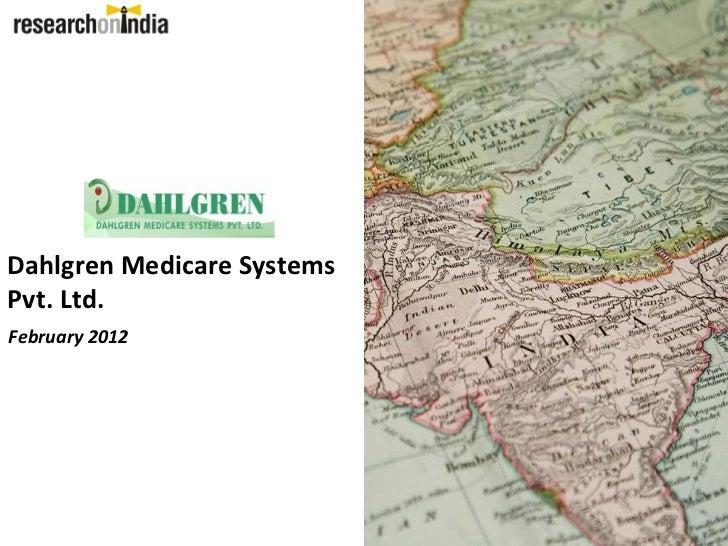 DahlgrenMedicareSystemsPvt.Ltd.February2012