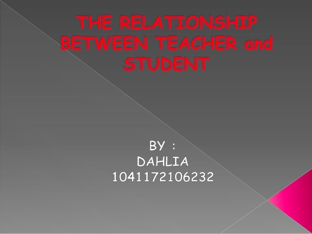 relationship between students and teachers essays