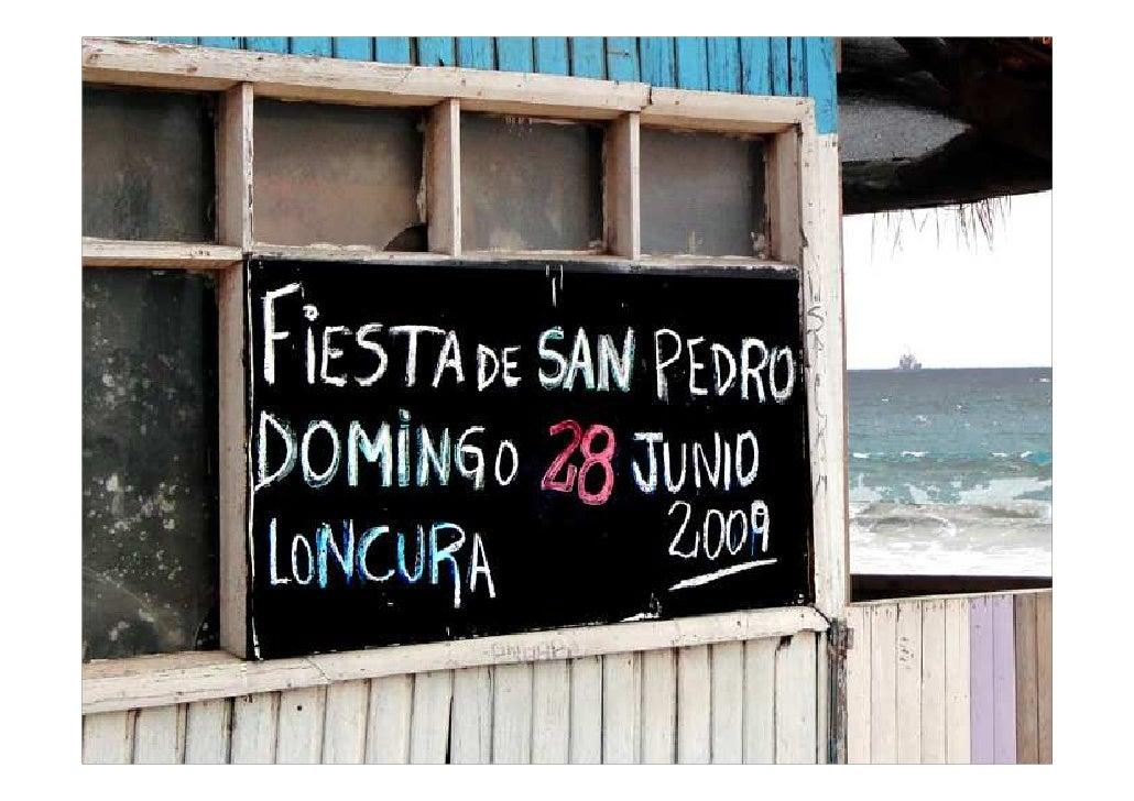 DIAPORAMA - FIESTA DE SAN PEDRO EN LONCURA