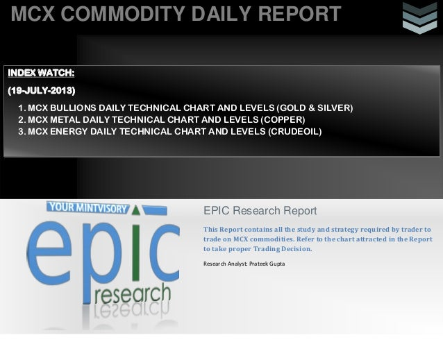 Daily commodity-report-19 july 2013
