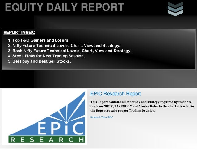 Daily equity-report by epicresearch 6 august 2013