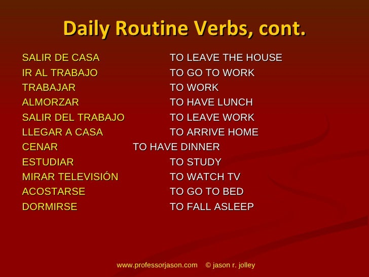 my daily routine in spanish Daily routines (rutinas diarias) free sample: mi día 1 (my day 1) mi día 2 (my day 2) mi día 3 (my day 3) mi rutina diaria (my daily routine spanish kidstuff.