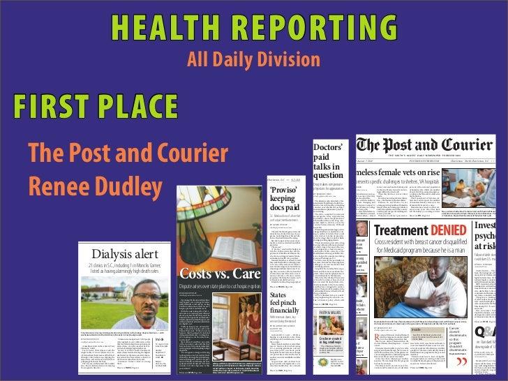 HEALTH REPORTING                                                                                                          ...