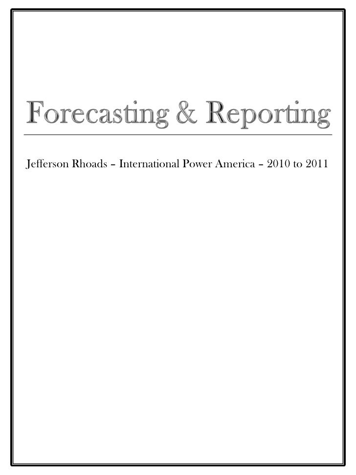 Jefferson Rhoads – International Power America – 2010 to 2011