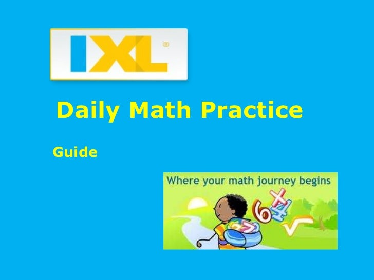 Daily Math Practice Guide