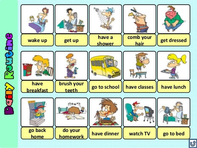 Simple Present English For 3rd Year 2015