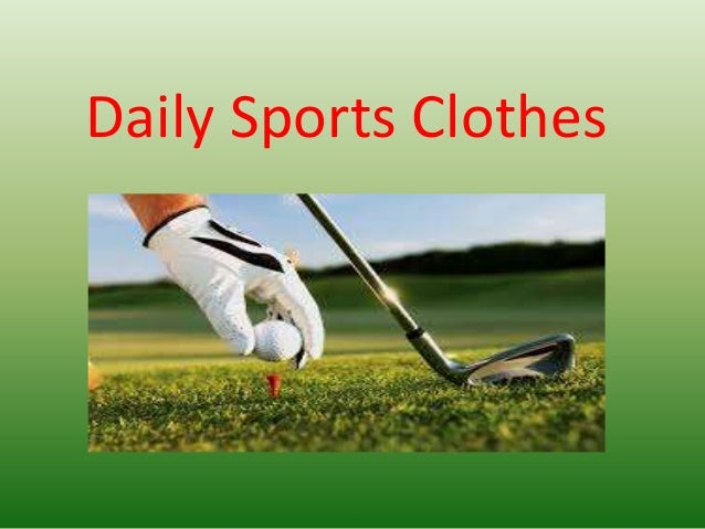 Daily sports clothes for you