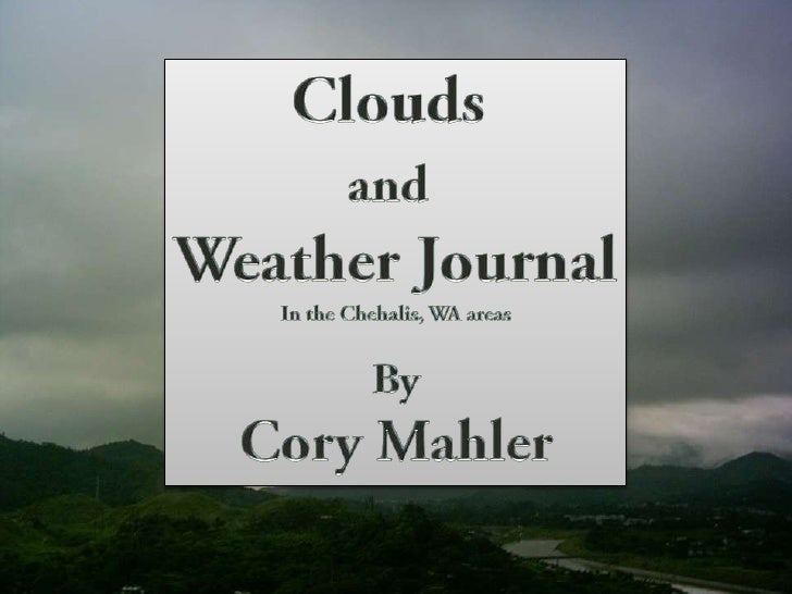 Daily weather cory mahler