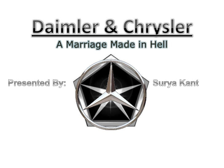 daimler chrysler post merger news analysis The historic merger a weekly industry news show hosted  of the merger for chrysler and daimler-benz there  called the post merger.