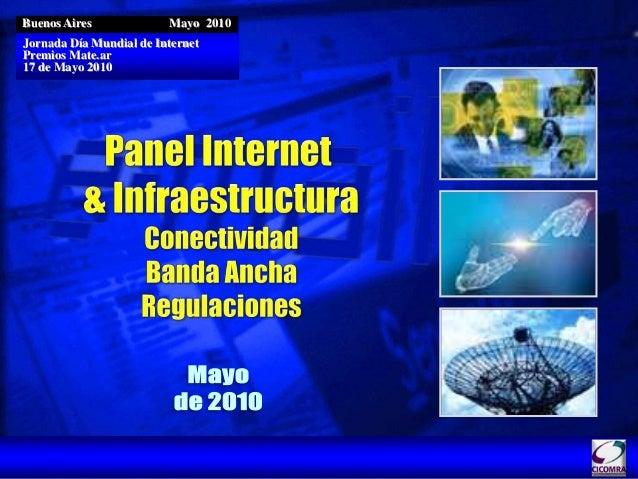 Buenos Aires Mayo 2010 Jornada Día Mundial de Internet Premios Mate.ar 17 de Mayo 2010