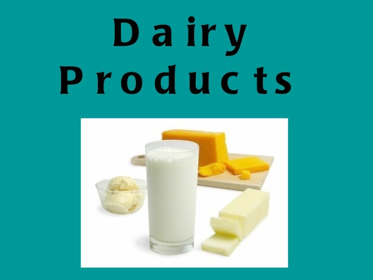 Dairy PowerPoint