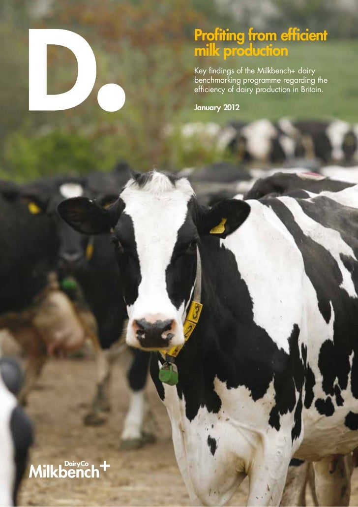 Profiting from efficientmilk productionKey findings of the Milkbench+ dairybenchmarking programme regarding theefficiency ...