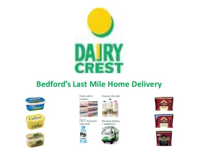 Dairy crest presentation