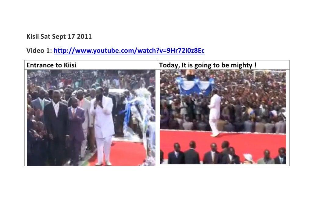 David owuor revival in kisii sat sept 17 2011