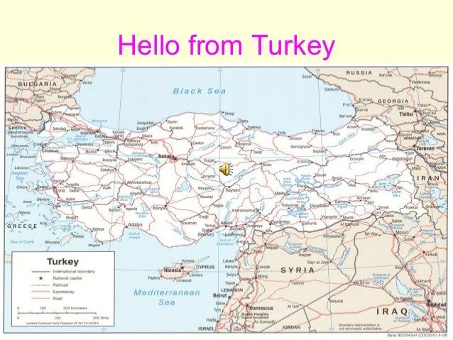 Hello from Turkey