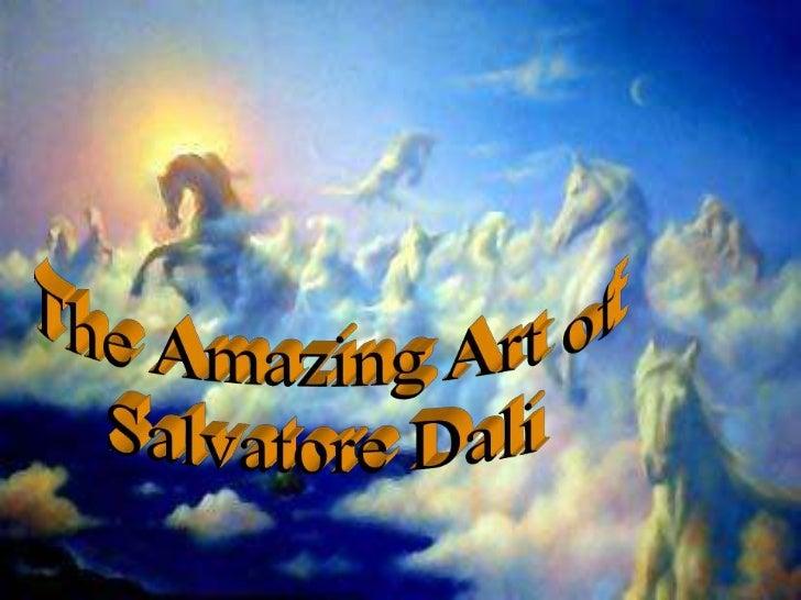 Bodyart<br />The Amazing Art of<br />Salvatore Dali<br />