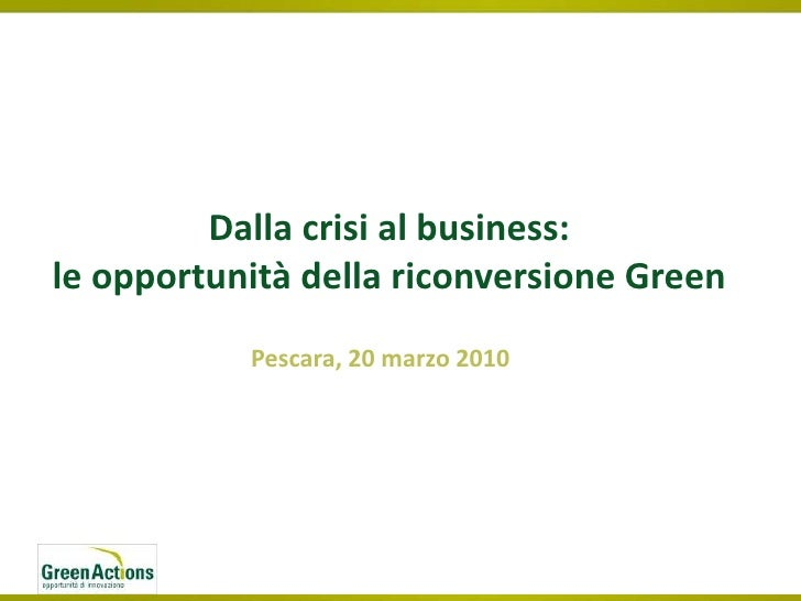 Dalla Crisi Al Business 12black&White