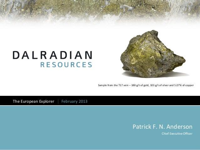 Dalradian corporate presentation feb 20 2013_web