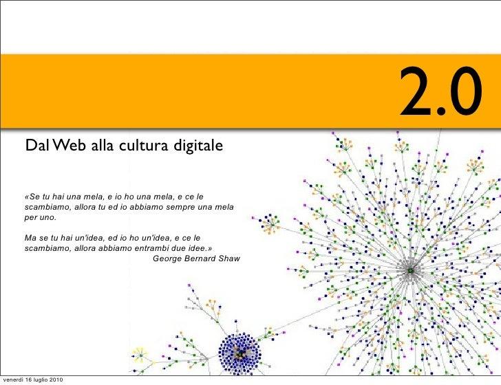 Dal web alla cultura digitale