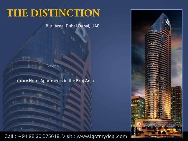 Burj Area, Dubai Dubai, UAE  Presents  Luxury Hotel Apartments in the Bruj Area