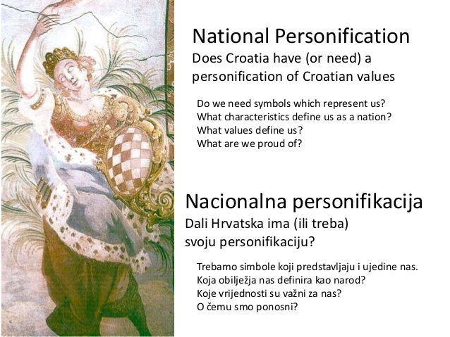 Croatian National Personification