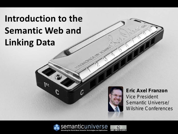 Introduction to the Semantic Web and Linking Data                          Eric Axel Franzon                       Vice Pr...
