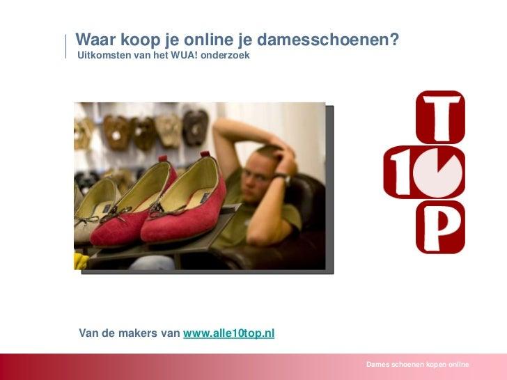 Dames schoenen kopen online