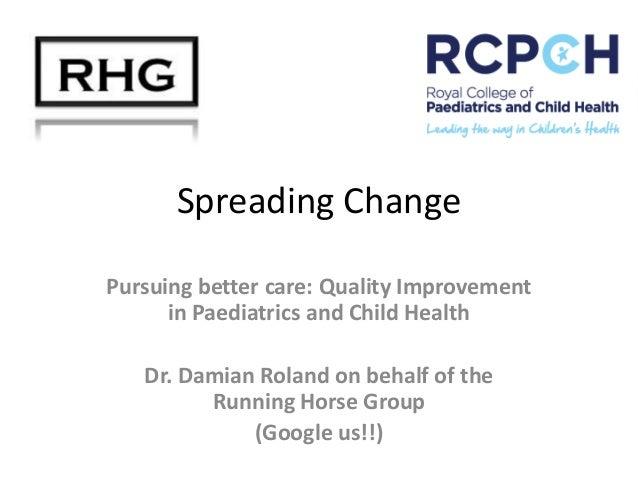 Damian PechaKucha presentation   Spreading Change