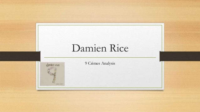 Damien Rice 9 Crimes Note N Kostenlos Downloaden
