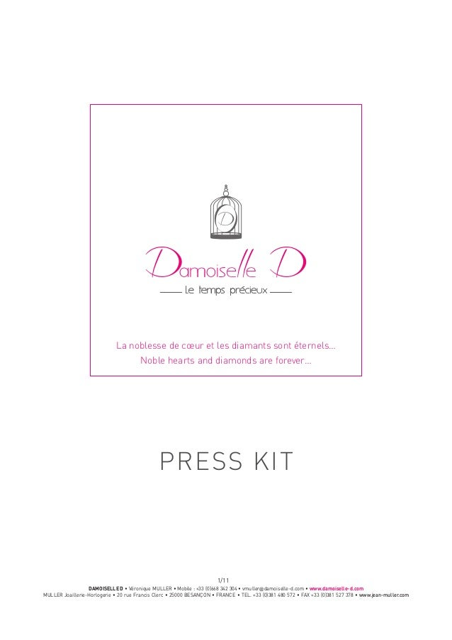 PRESS KIT / DAMOISELLE D
