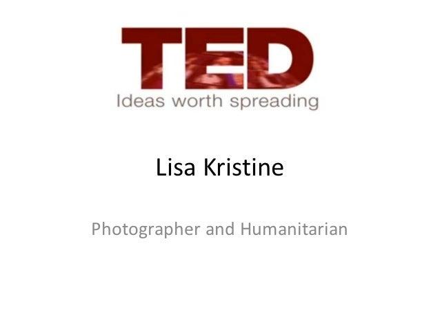 TED Talk_Lisa_Kristine PSP