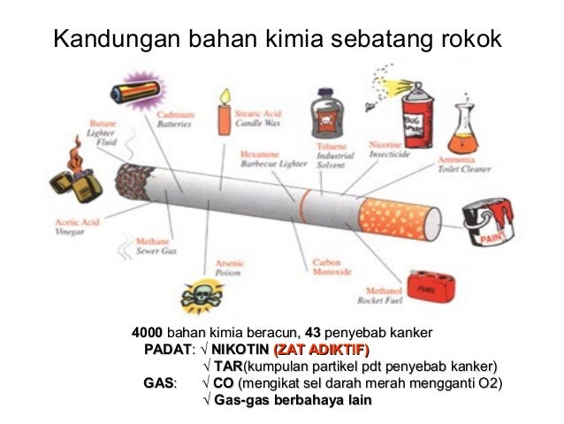 Kandungan Asap Rokok Kandungan Asap Rokok Kandungan