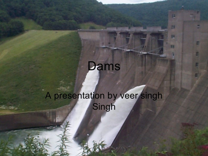 the several dams of india