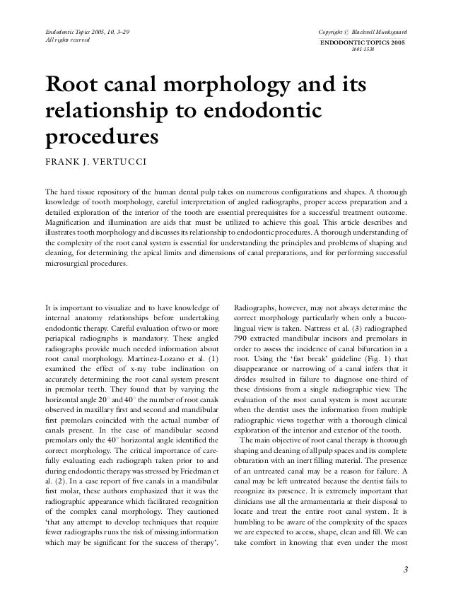 Endodontic Topics 2005, 10, 3–29                                                     Copyright r Blackwell MunksgaardAll r...