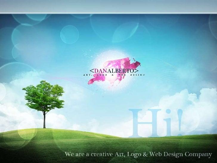 DANALBERTO Art Logo Web Design Capabilities