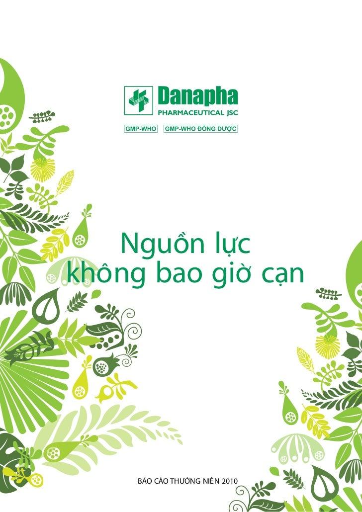 Bao cao thuong nien - Danapha ar 2010