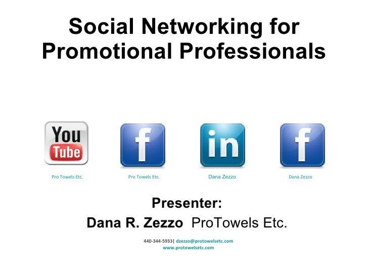 Dana Social Networking Pro Forma  2010