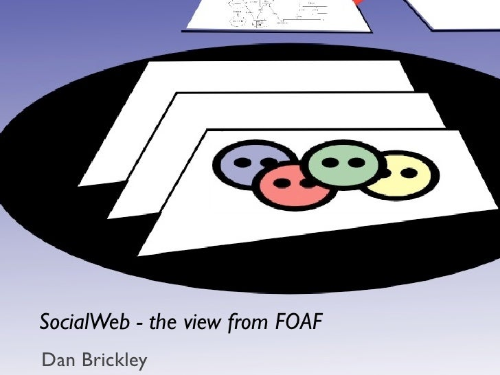 SocialWeb - the view from FOAF Dan Brickley