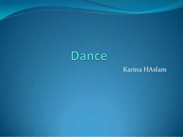 Karina HAslam