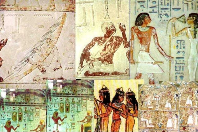 Ceremonies and parties in ancient Egyptian life